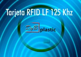 Tarjetas rfid 125 khz