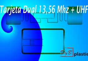 Tarjetas Dual 13,56 Mhz mas UHF