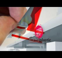 Stopper con adhesivo