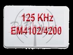 tarjeta rfid EM4200 125 khz
