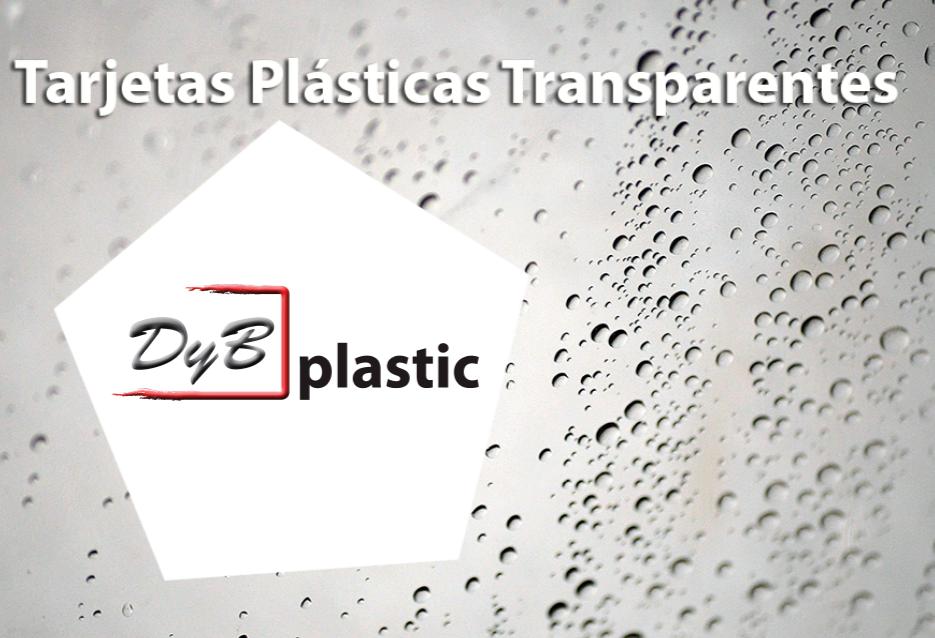 tarjetas plasticas transparentes