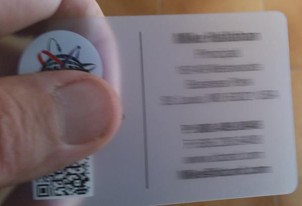 tarjetas transparentes laminado mate