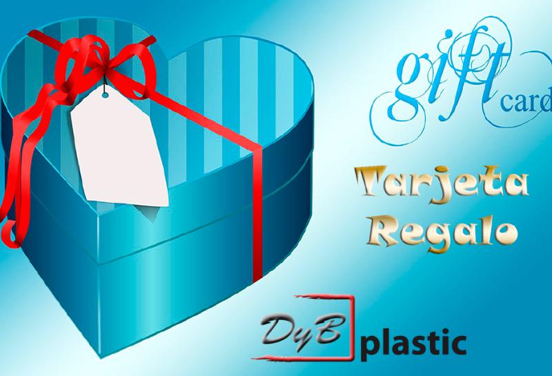 Tarjetas regalo de PVC