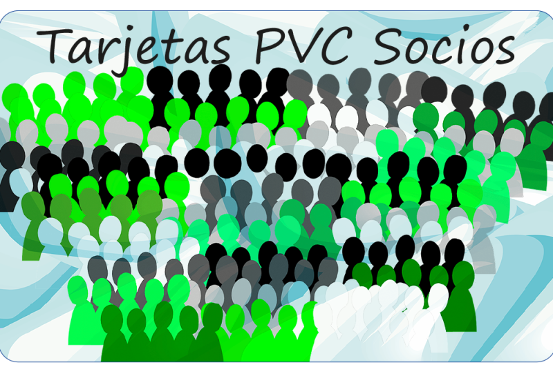 Tarjetas PVC socios