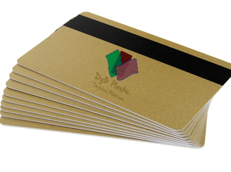 Tarjetas color con banda magnetica