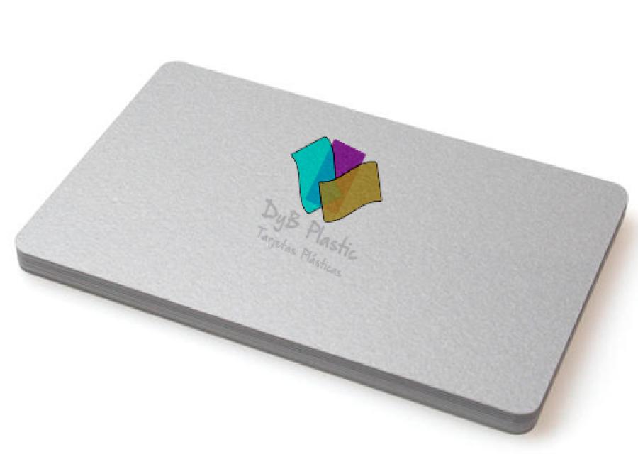 Tarjetas plasticas colores 420 micras