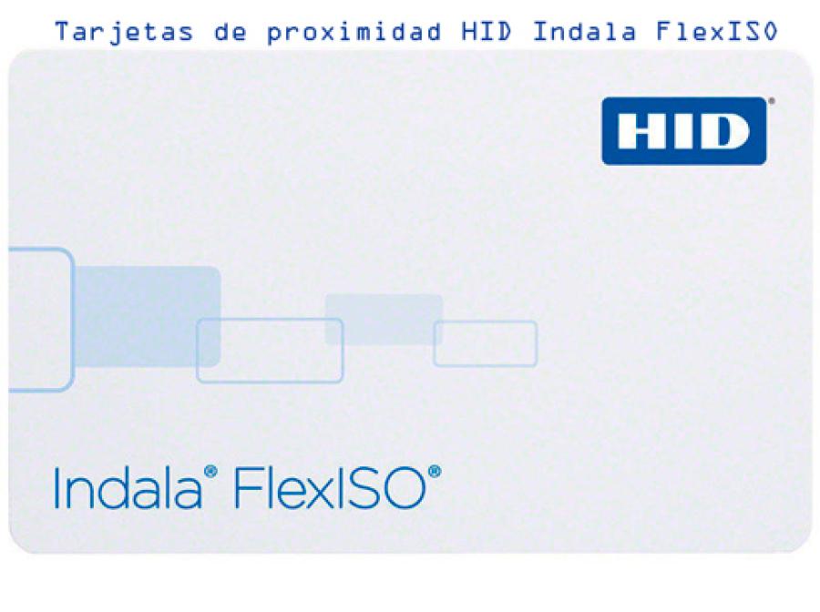 Tarjetas de proximidad imaginable HID Indala FlexISO