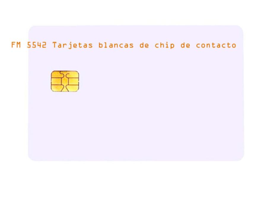 FM-5542-Tarjetas-blancas-de-chip-de-contacto