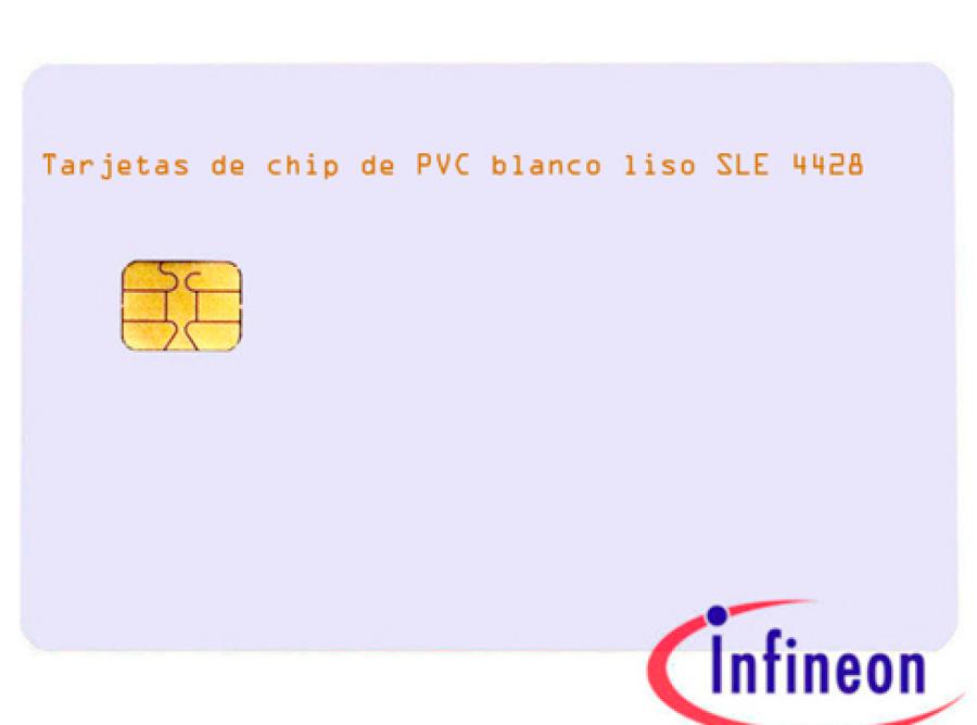 Tarjetas-de-chip-de-PVC-blanco-liso-SLE-4428