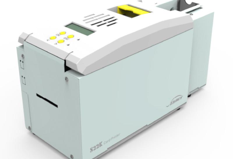 impresora de tarjetas para gran produccion